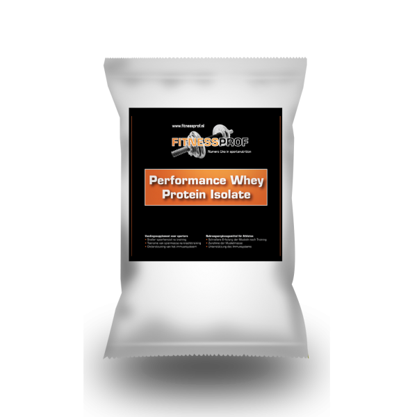 Whey Isolate navulverpakking 1 kg